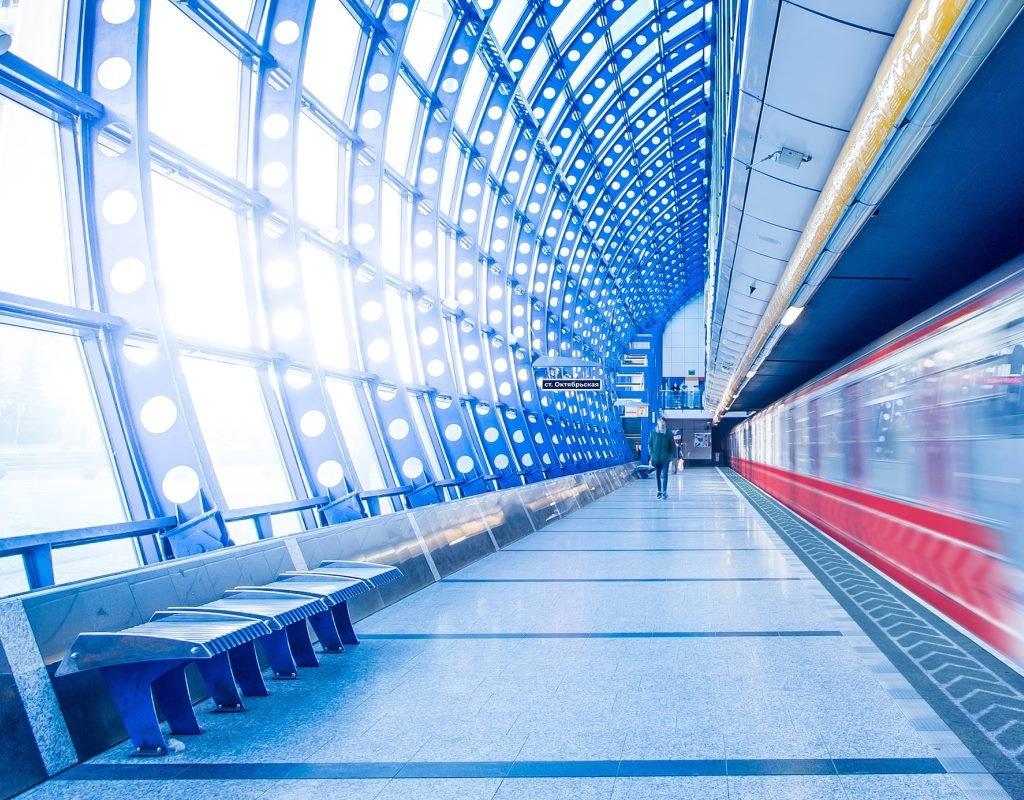 Дизайн станций красноярского метро
