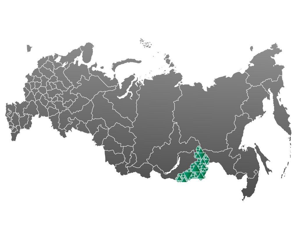 фирменное оформление карты забайкальского края