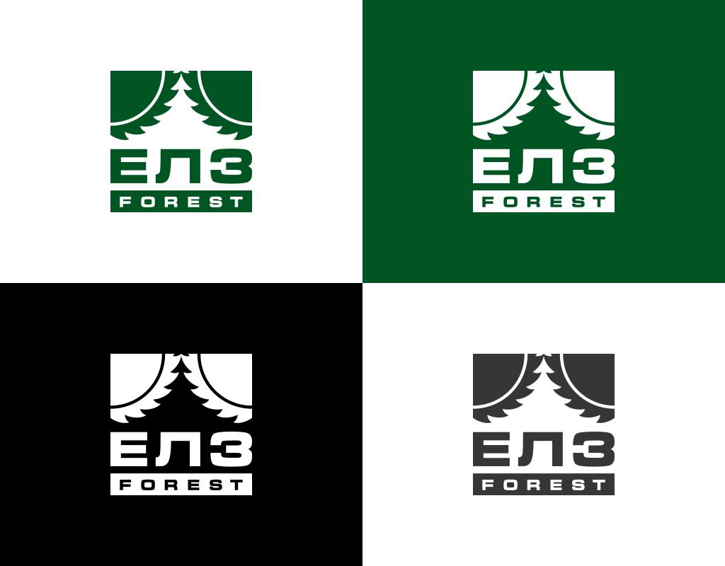 фирменные цвета логотипа ЕЛЗ Форест
