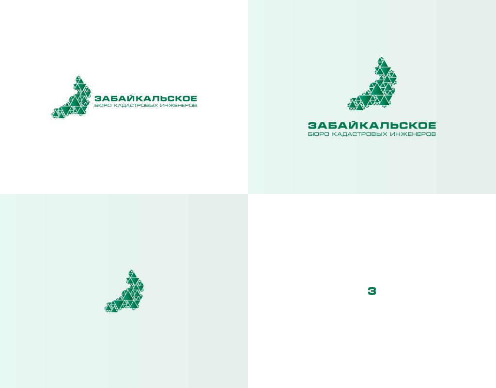 Формы логотипа для кадастровой компании