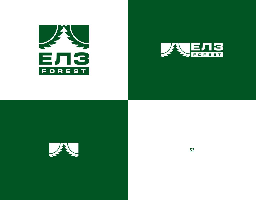 Формы логотипа ЕЛЗ Forest