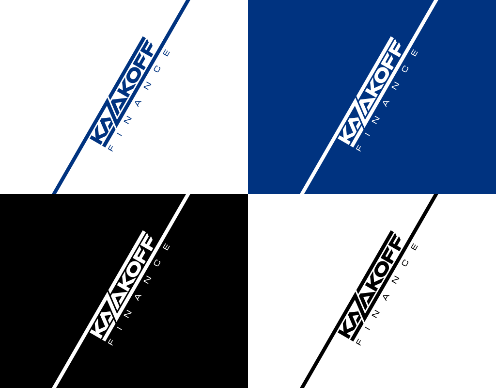 цветовые схемы логотипа для финансовой компании