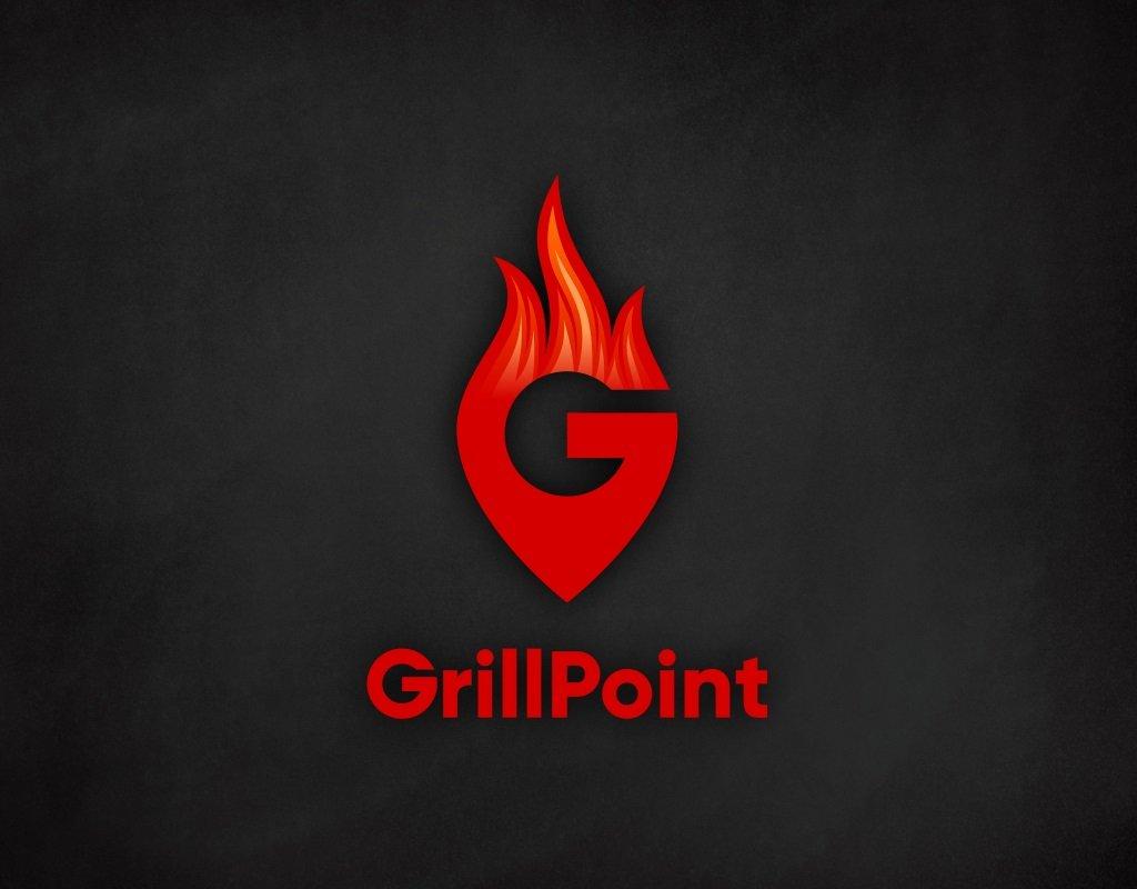 логотип для гриль бара grillpoint