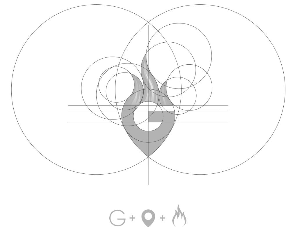 Построение логотипа гриль бара