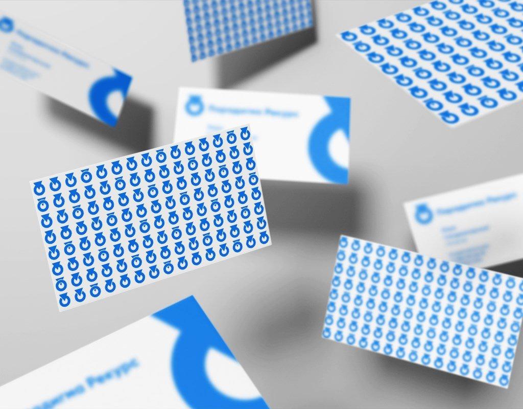 разработка визиток для аудиторской компании