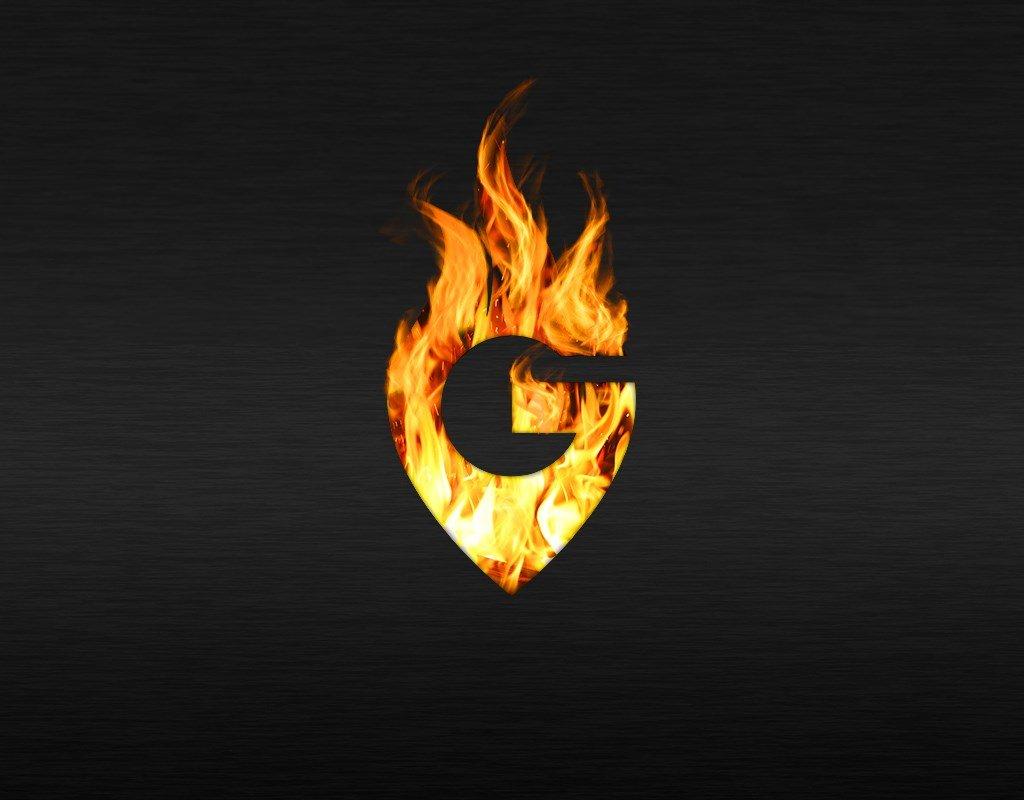 визуализация логотипа гриль бара