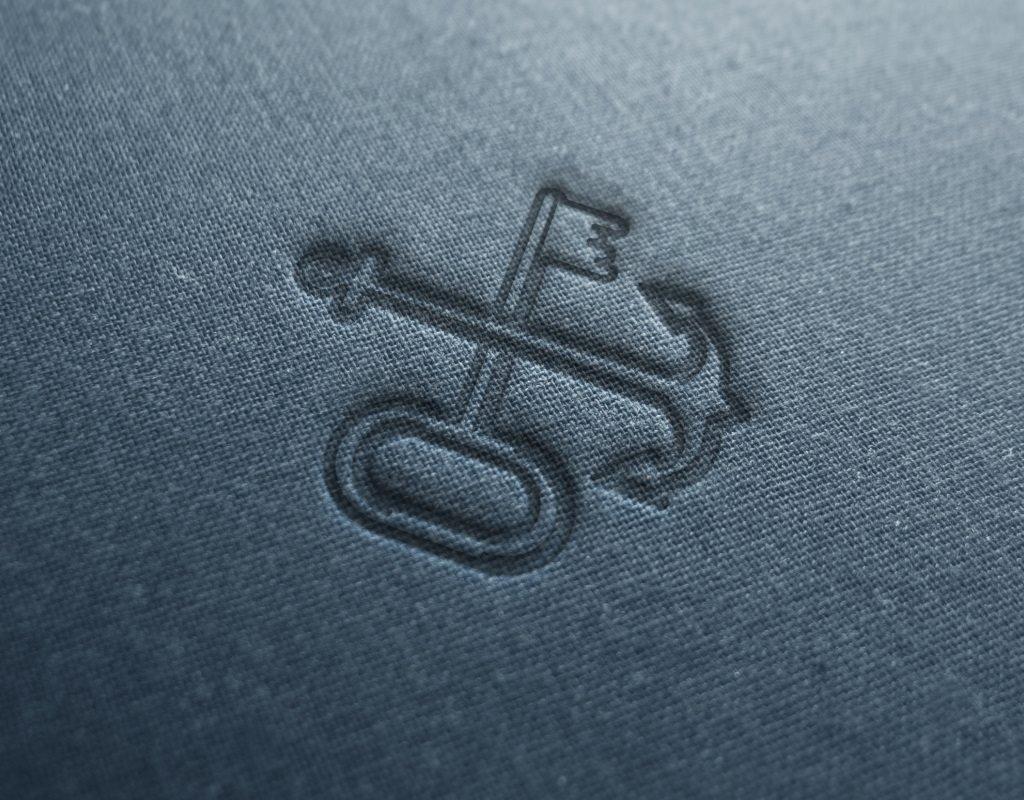 вышивка логотип мини отеля кают компания