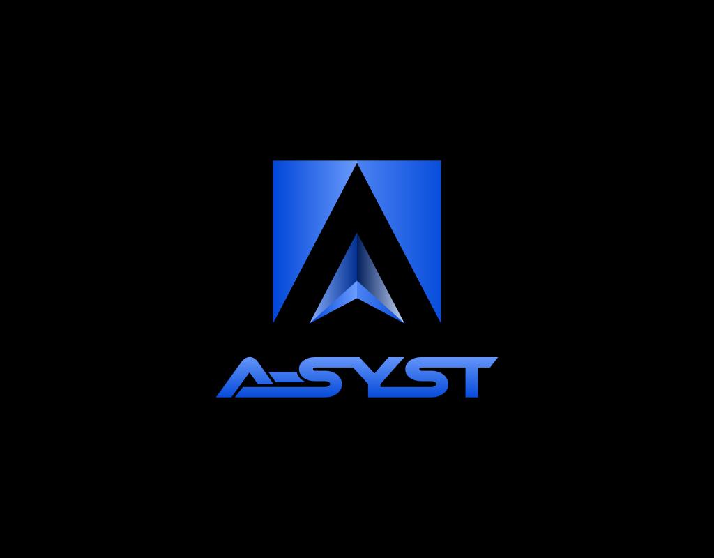 A-syst логотип для It-аутсорсинговой компании