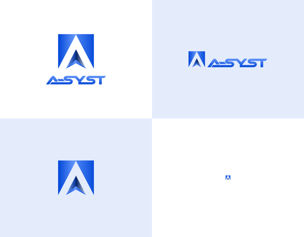 адатпивный логотип It компании