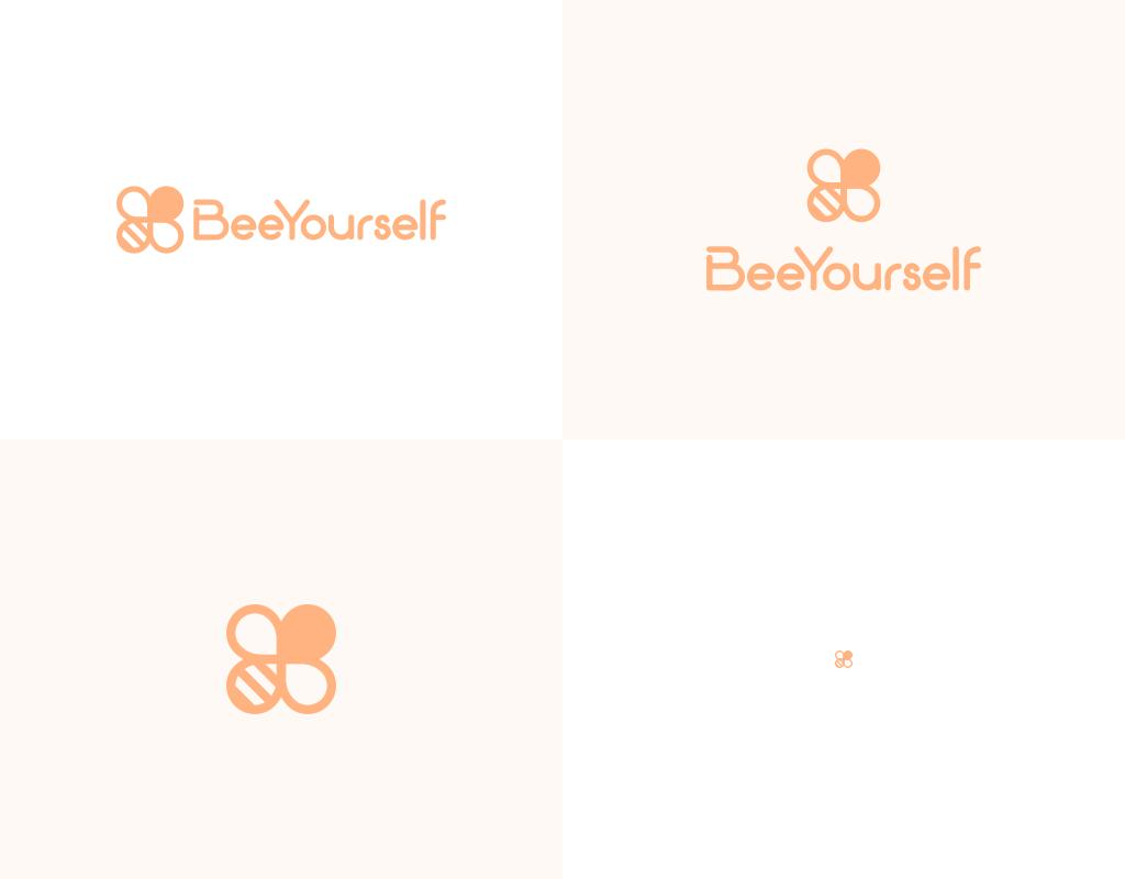 BeeYourself логотип производителя косметики