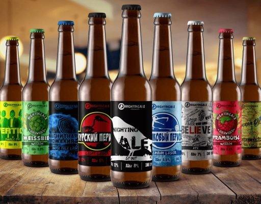 Дизайн этикеток для пива