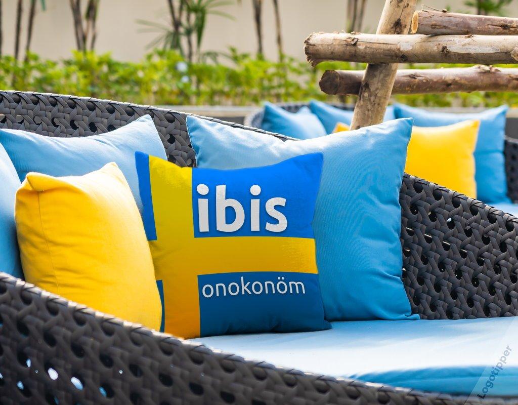 фирменный стиль для отеля ibis onokonom