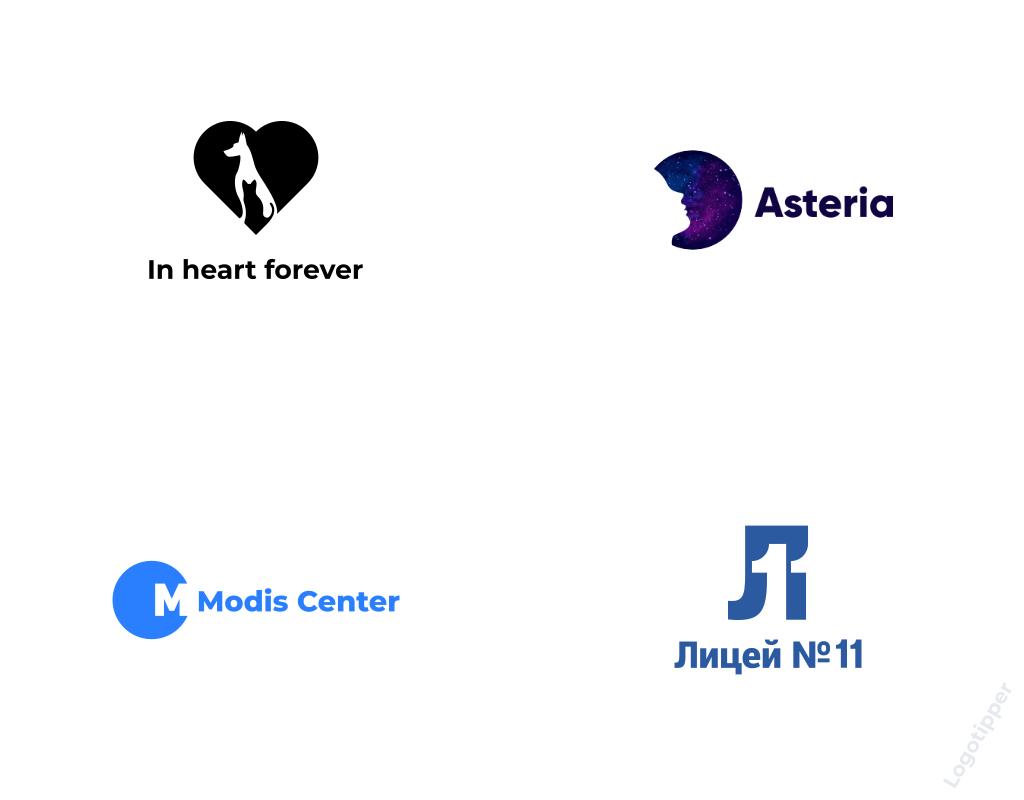 форма и контрформа примеры логотипов Logotipper.ru
