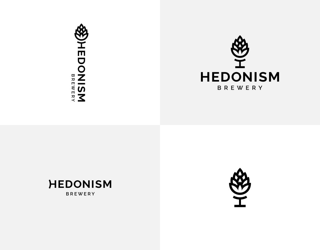Формы лого Hedonism brewery