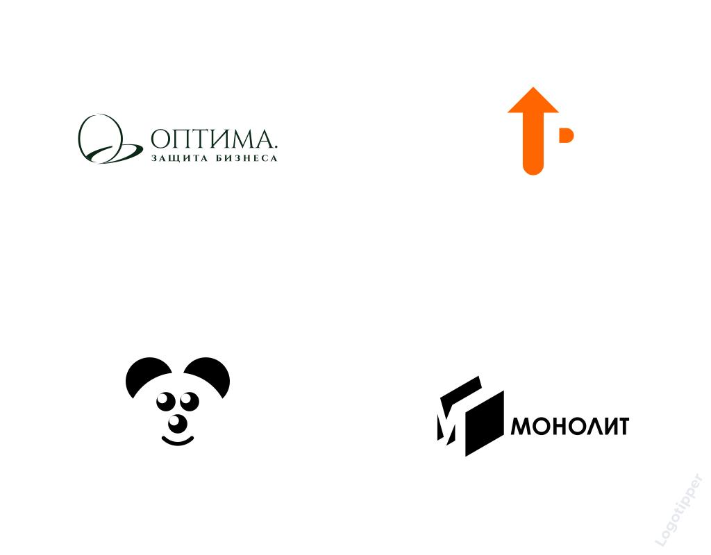 Использование контрформы в дизайне логотипов Logotipper.ru