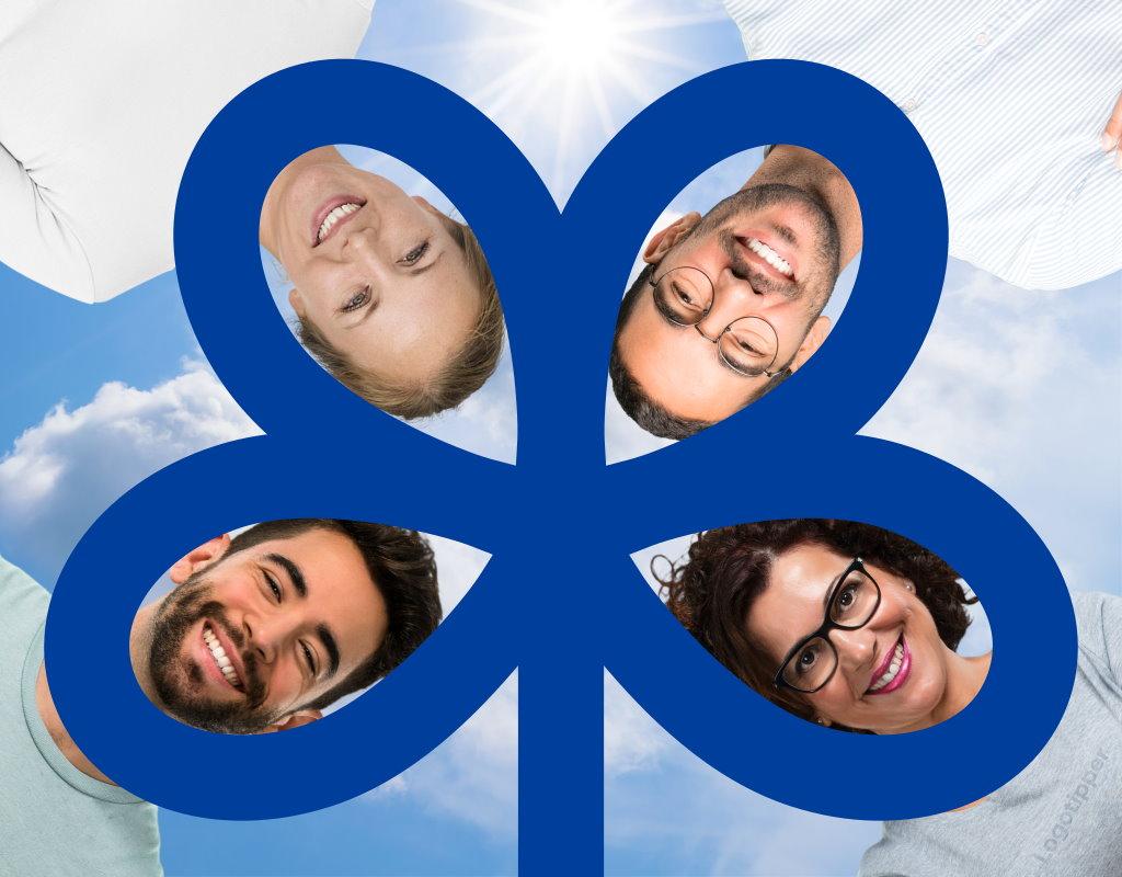 логотип для клуба по интересам forget-me-knot