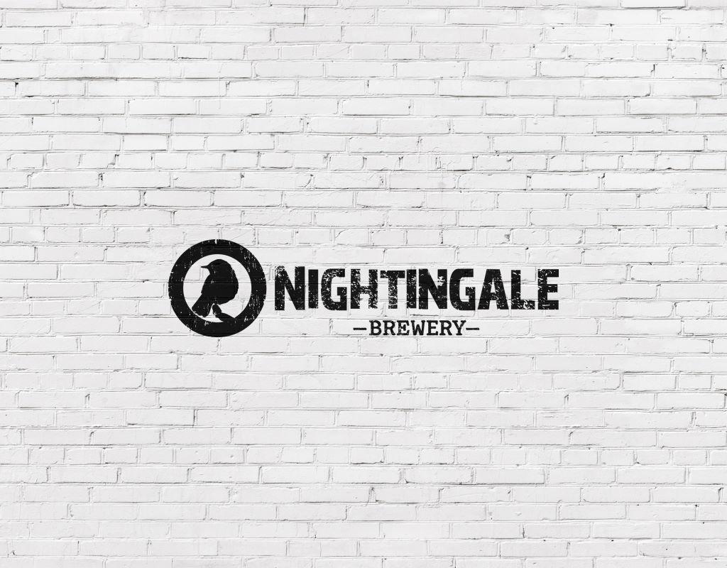 логотип для пивоварни-бара