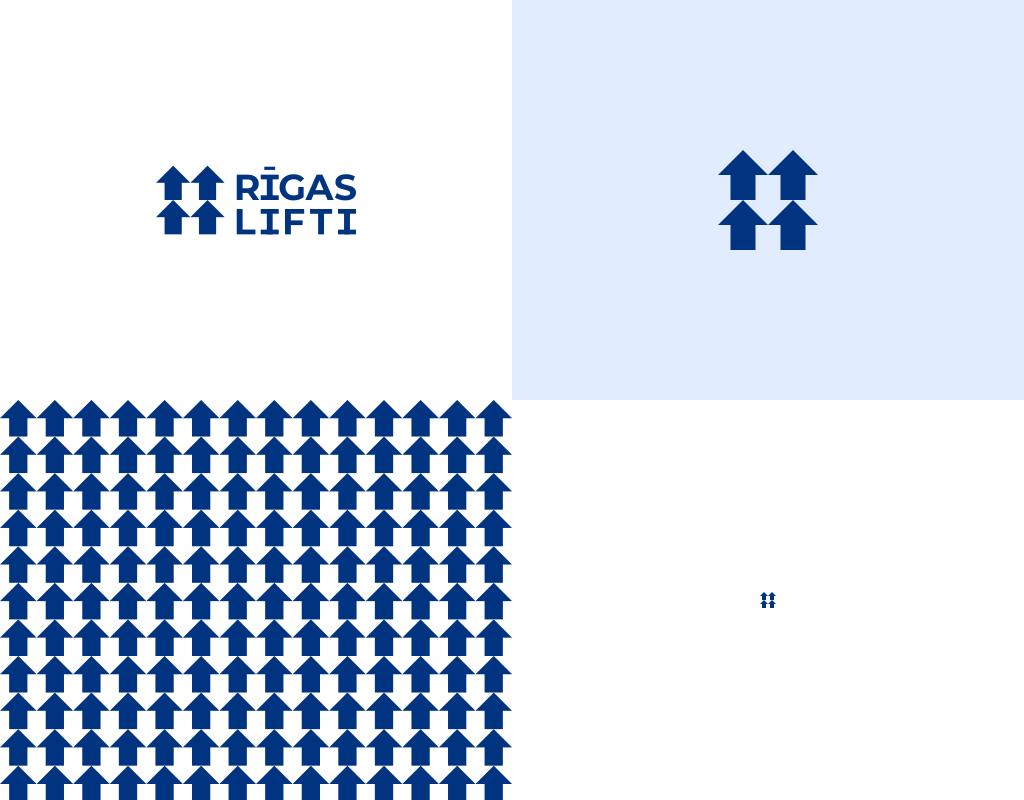 логотип для установщиков лифтов