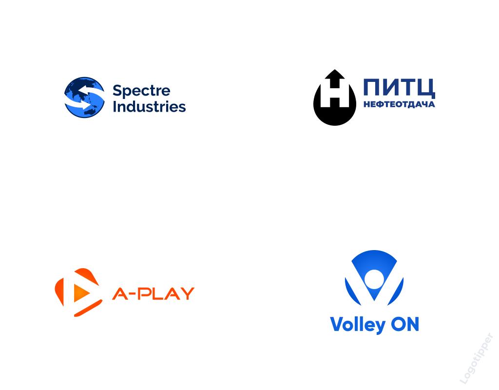 Логотипы со скрытым смыслом и негативным пространством (контрформой) Logotipper.ru