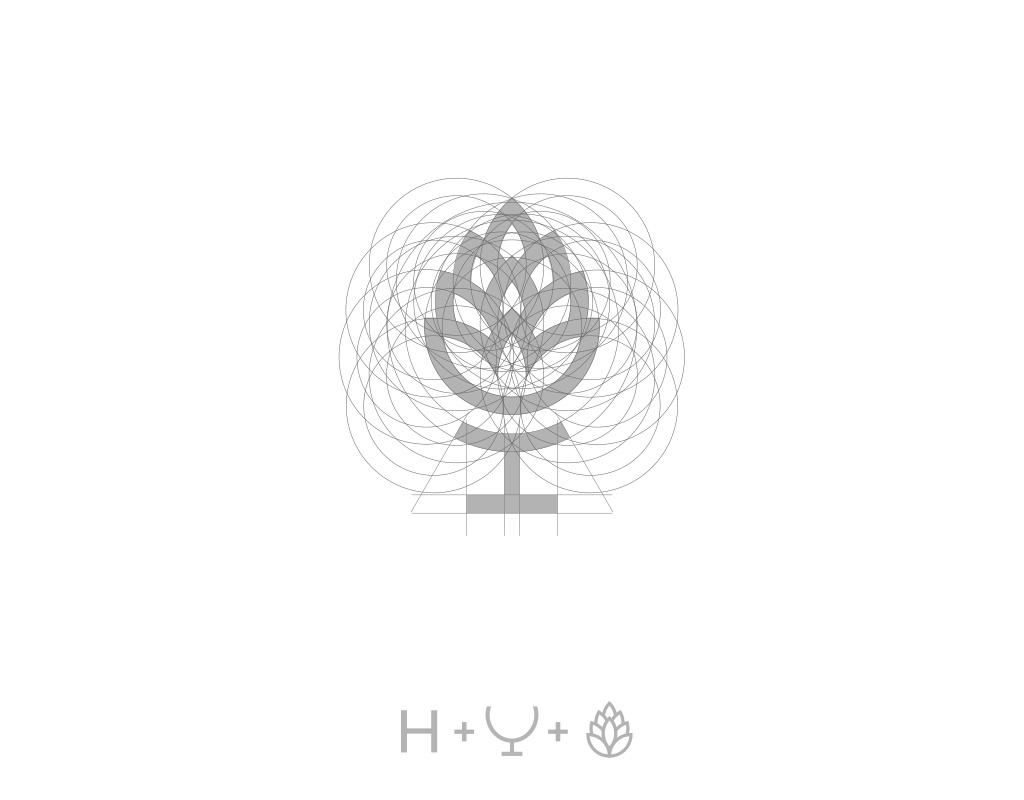 Построение логотипа для пивоварни