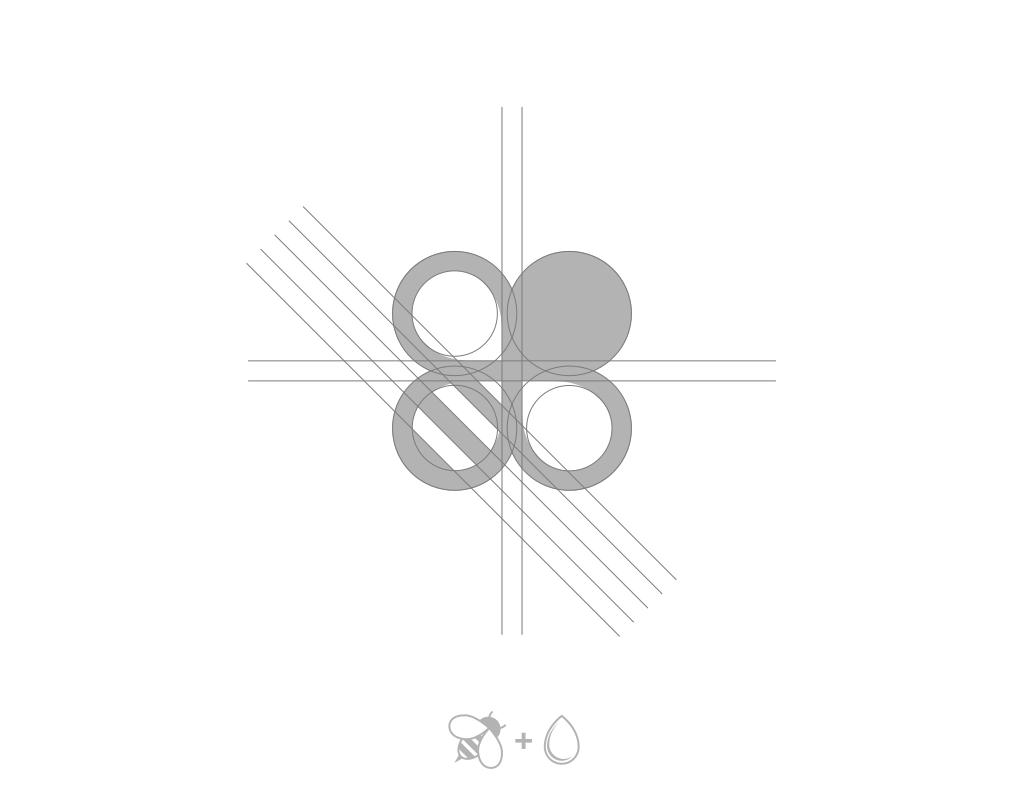 Построение логотипа косметического бренда