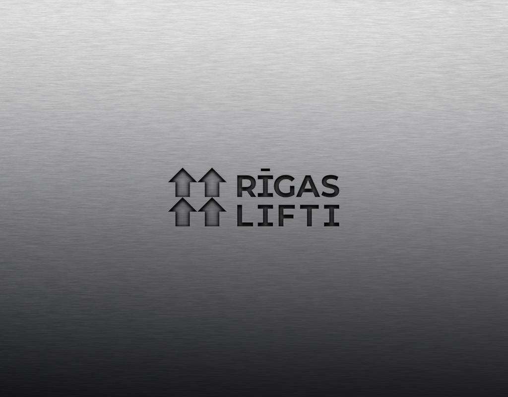 разработка логотипа для компании по установке и ремонту лифтов
