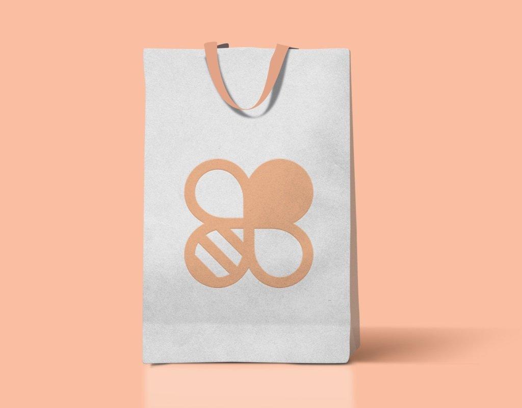 разработка логотипа для натурального косметического бренда