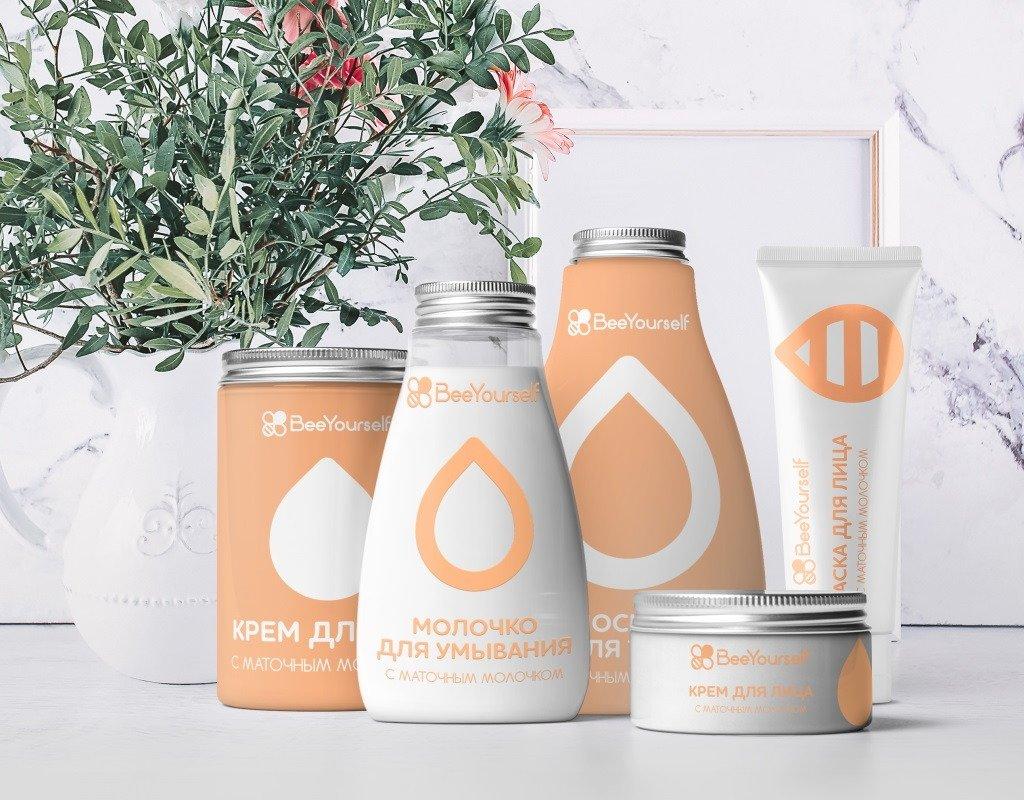 разработка упаковки для косметического бренда