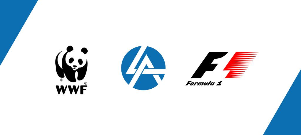 Тренд логотипов 2020 негативное пространство