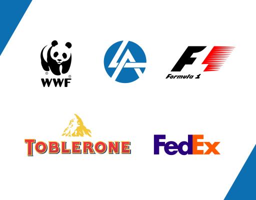 Тренд в дизайне логотипов 2020 контрформа