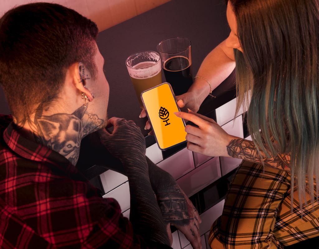 заказать логотип для крафтовой пивоварни