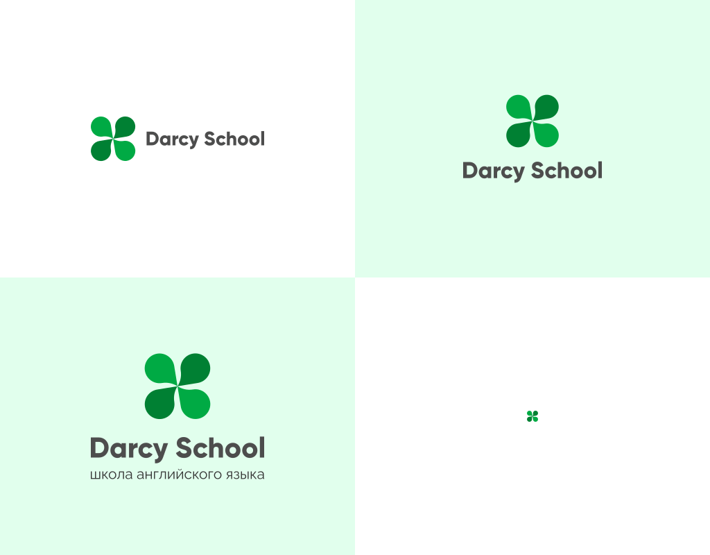 Дизайн логотипа и фирменного стиля для школы