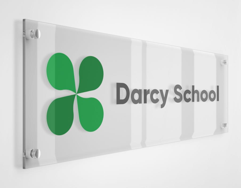 Дизайн логотипа школы