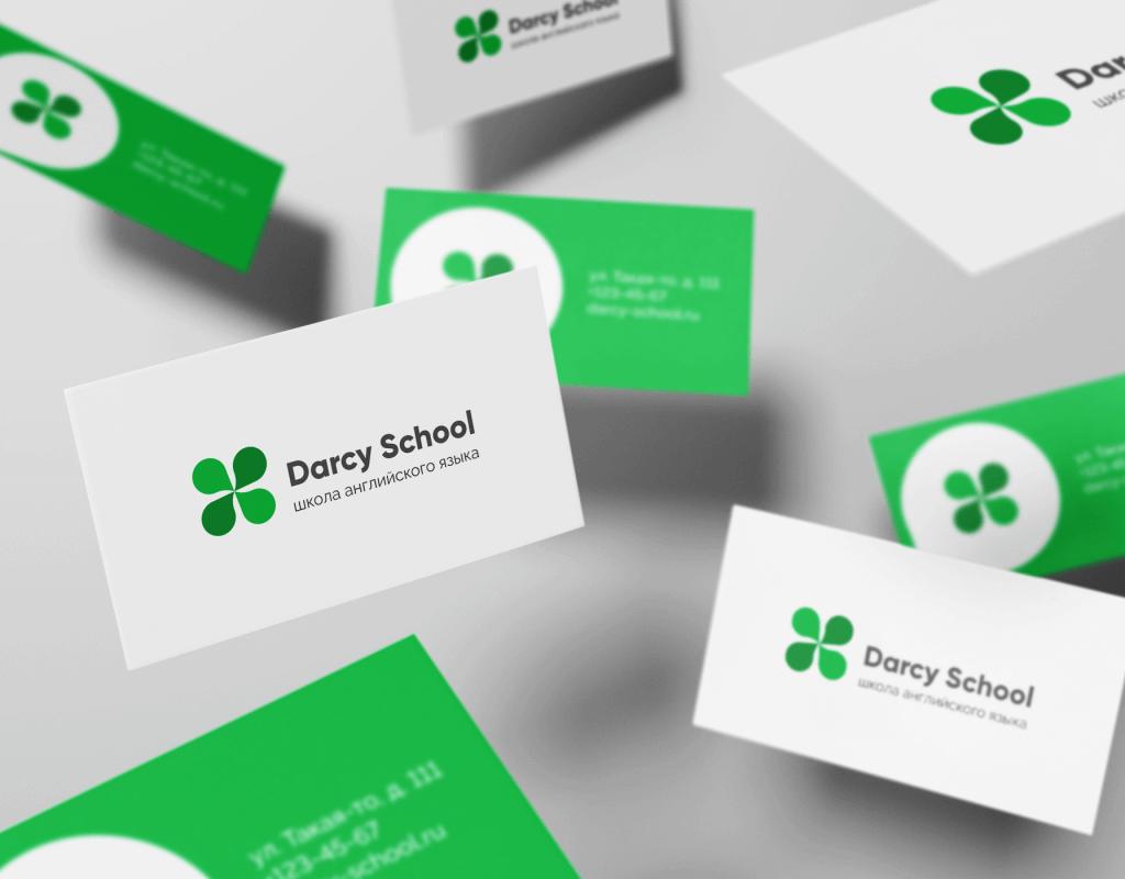Редизайн логотипа школы иностранного