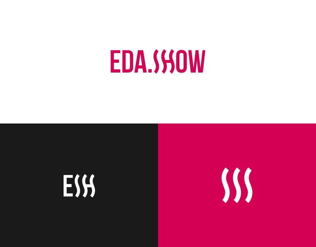 разработка логотипа для интернет портала еда шоу