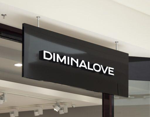 логотип для бренда одежды diminalove